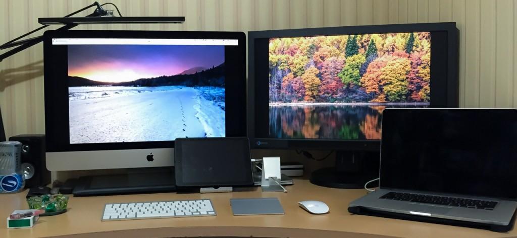 写真現像環境は、iMac Retina 5kとEIZO CG277で現像しています。