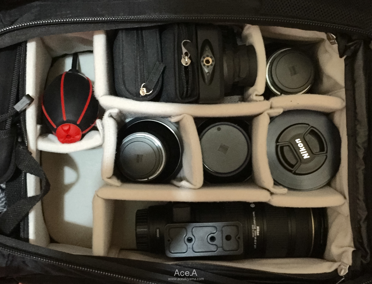 カメラバック