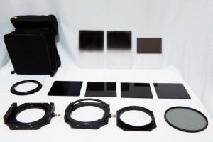 風景写真家には必修アイテムの角型フィルターシステム