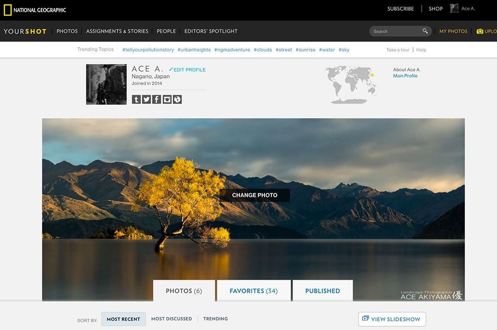 審査制の写真投稿サイトのYour Shotを利用する