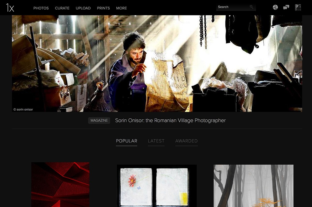 感動的な風景写真が集まる写真投稿サイトの1X(ワンエックス)