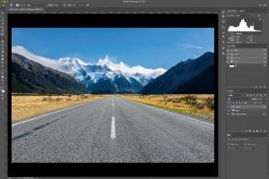 風景写真のRAW現像の周辺露光で視線を誘導
