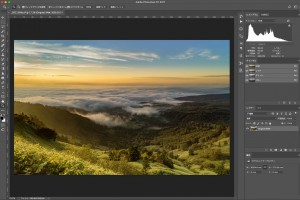 Photoshopの特定色域の選択で発色よい色に変える方法