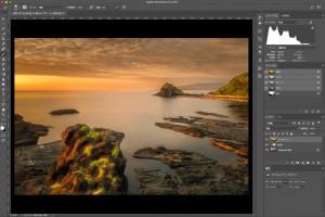 風景写真に輝きの効果を付けるRAW現像方法