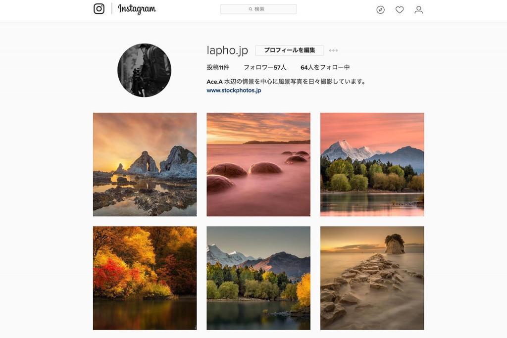 instagramの審査制投稿サイト