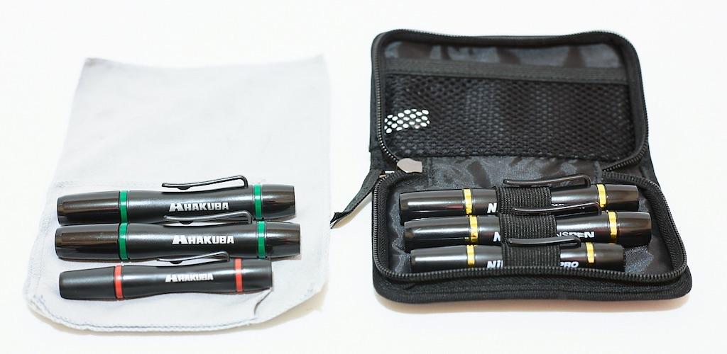 ハクバのレンズペンでカメラのレンズを簡単に掃除する方法と使い方